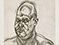 "Lucian Freud ""Large Head"" 1993 Etching (ed of 40) 69.4cmx54cm"